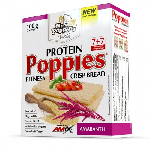 POPPIES CRISP BREAD 100G