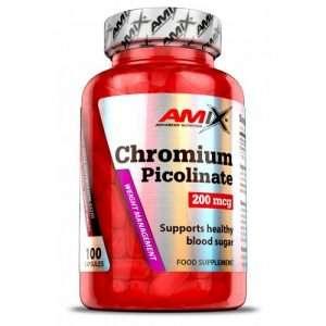CHROMIUM PICOLINATE 200 MCG 100 CAPS