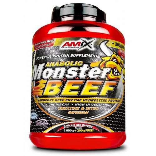 MONSTER BEEF PROTEIN 2KG + 200GR GRATIS