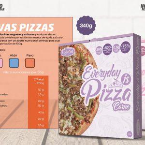 Pack de 10 Hamburguesas + Pizza de regalo
