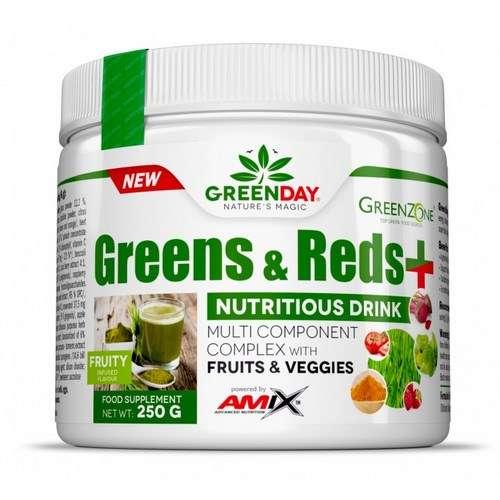 GREENS & REDS+ 250G