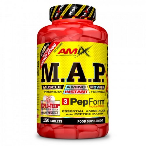 M.A.P MUSCLE AMINO POWER 150 TABL