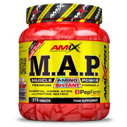 M.A.P MUSCLE AMINO POWER 375 TABL