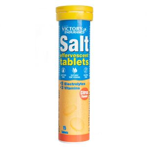 SALT EFFERVESCENT CITRUS 15 TABS
