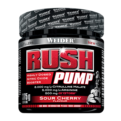 RUSH PUMP 375G SOUR CHERRY