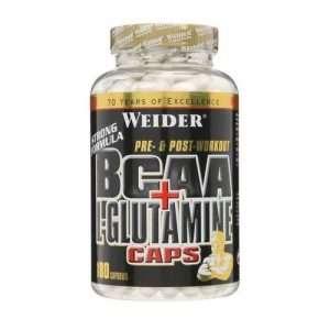 BCAA + L-GLUTAMINA 180 CAPS