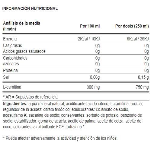 L-CARNITINE FIT DRINK 500ML